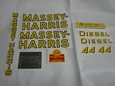 Massey Harris 44 Diesel Tractor Decal Set  - New FREE SHIPPING