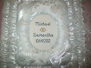 WEDDING Personalized Fabric  Photo Album / Scrapbook - HANDMADE