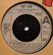 "ANDY GIBB - An Everlasting Love - Excellent Condition 7"" Single RSO 015"