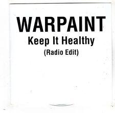 (FW770) Warpaint, Keep It Healthy - DJ CD