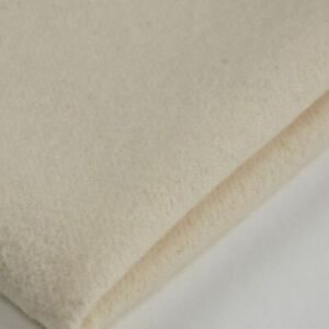 100% Cotton Domette Bump Interlining  260 gsm PER METRE