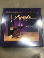 Karafe Wine Game New Factory Sealed Learn About Wine Wine Tasting Party Game