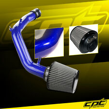 01-05 VW Jetta 1.8T 1.8L 4cyl Blue Cold Air Intake +Stainless Steel Filter