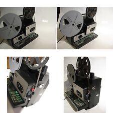 Super 8 mm Projektor Bauer T60- 250 Meter Spulen mit Ton-Aufnahme-Gute Funktion
