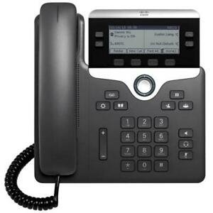 (Lot of 14) Cisco CP-7841 CP-7841-K9 4-Line VoIP Business Phone w/ Handset Stand