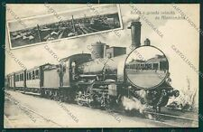 Alessandria Città Saluti a Grande Velocità Treno cartolina EE7303