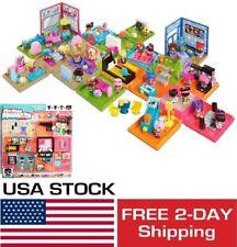 My Mini MixieQ's Plus Play Set Doll Dollhouse Toys For Girls Kids Playset NEW
