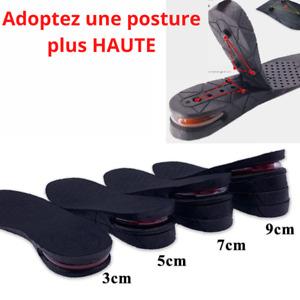 Paire De Semelle Intérieure Chaussure Augmentation Hauteur Grandissante Unisexe