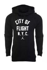 NEW Sz 2XL Air Jordan City Of Flight Pullover Hoodie Black/White 943674-011 $90