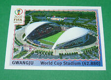 N°9 GWANGJU STADE WORLD CUP PANINI FOOTBALL JAPAN KOREA 2002 COUPE MONDE FIFA