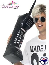 Inflatable Mobile Phone Retro 1980s Fancy Dress Costume Blow Up