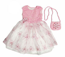 NWT CachCach Girls' Daisy Dress and Purse Set ~ Size 5
