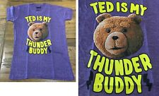 Ted is my thunder buddy T-shirt violet NEUF