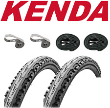 "Kenda K847 Kross Plus 26"" x 1.75"" Urban Bike Kit ( 2/ Tires +Tubes + Rim Strips)"