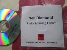 Neil Diamond Pretty Amazing Grace  Columbia Records  UK Promo CD Single