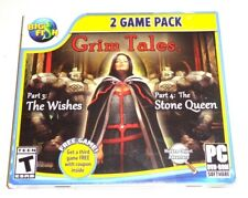 Grim Tales: Part 3 --The Wishes/Grim Tales: Part 4 Stone Queen (PC, 2013)
