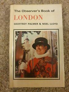 The Observer's Book of London (1980) Geoffrey Palmer & Noel Lloyd