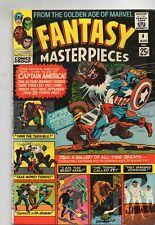 FANTASY MASTERPIECES # 4 / 1966 FINE  / KIRBY / AYERS / GA CAP AMERICA.