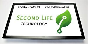 "ViewSonic VG2439m-LED 24"" 1080p FHD LCD Monitor VGA DVI DP No Stand Grade B"