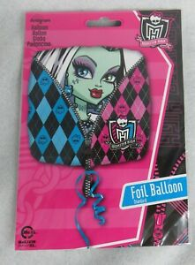 3 Monster High Balloons Frankie Stein Officially Licensed 17 Inch Happy Birthday