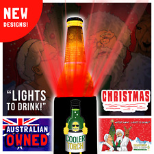 Cooler Torch   Aussie Christmas Edition   Lights to drink!