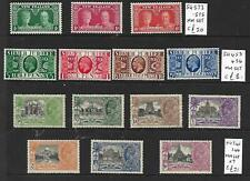 1935 SILVER JUILEE  X 3 MINT SETS  - GB,New Zealand & India-LMM