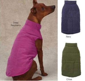 CLOSEOUT PRICE IVY LEAGUE DOG VEST JACKET COAT Zack & Zoey pet coats jackets