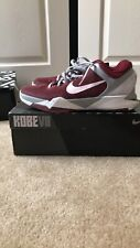 NIKE ZOOM KOBE VII 7 SYSTEM LOWER MERION ACES 488371-600 size 12TEAM RED 2011