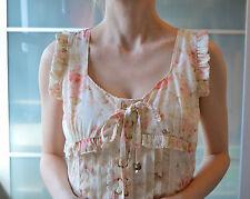 Liz Lisa Summer Floral Lacets Blanc Babydoll Robe ~ Japon ~ lolita ~ japonais