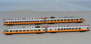 N Scale LIMA 123909 DB Lufthansa Airport Express Train Set Made in Italy