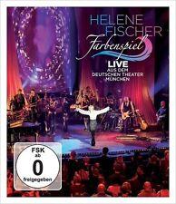 Helene Fischer-gioco di colori-live da Monaco di Baviera Blu-Ray tedesco-POP NUOVO