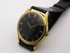 Vintage 18K Yellow Gold Omega Ref. 2421 Bumper Automatic 35mm - Unusual Case