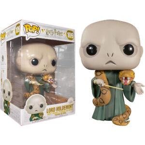 "Harry Potter Lord Voldemort with Nagini 10"" #109 - New Funko POP! vinyl Figure"