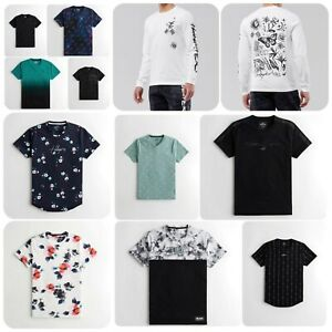 HOLLISTER Must Have Logo Graphic T-Shirt Short Long Sleeve Tee