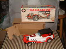 Bandai Tin & Plastic Rare, Fully Operational Excalibur Car W/Auto Reverse & Box!