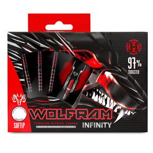 Harrows Wolfram Infinity 18 gram 97% Tungsten Soft Tip Darts
