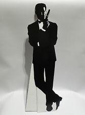 JAMES BOND : JAMES BOND FULL PROFILE MINI STANDEE MADE OF CARDBOARD