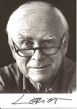LORIOT ++ Vicco von Bülow ++ Autogramm ++ Komiker Legende Autograph Ödipussi