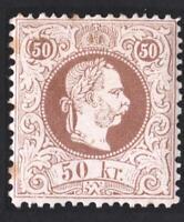 AUTRICHE EMPIRE  N°: 39 NEW    year 1880     CV: 75 €