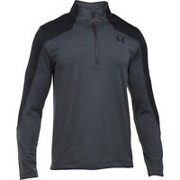 Under Armour 1259550 Men's Sweater UA Gamut 1/4 Zip Dual Layer Fleece Fitted ^