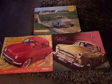 Lot brochures  Renault