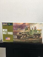 1/72 Hasegawa M3a1 Half Track U.S. WWII Armor Truck detail model VINTAGE