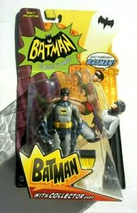 Mattel Batman 1966 Classic TV Series Batman Collector Action Figure Adam West