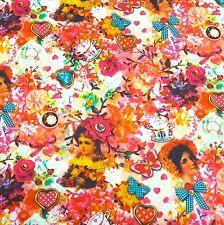 100% Cotton Poplin Fabrics Print Poplin Decor Clothing Patchwork 01811