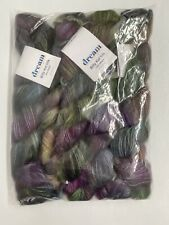 5pc Dream in Color Billy Kid Silk Lace Weight Mohair Yarn Purple Kiss Me Kate