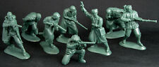 Mars of Ukraine #32025 - WWII Russian Infantry - 15 in 8 poses 54mm plastic