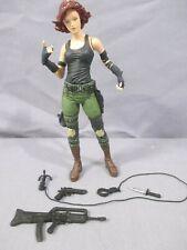 Metal Gear Solid MERYL SILVERBURGH 100% Complete Tactical Espionage Mcfarlane