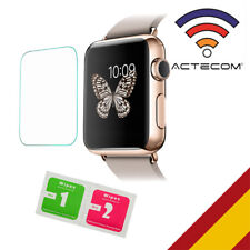 Actecom protector de pantalla 38 mm para Apple Watch serie 3 cristal templado