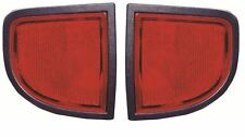 Mitsubishi L200 2006-2016 Red Rear Reflector Pair Left & Right