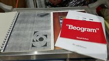 Bang & Olufsen BEOGRAM CD X Service Manual and Marketing Ads